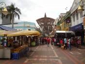 Central Market KL na zewnątrz
