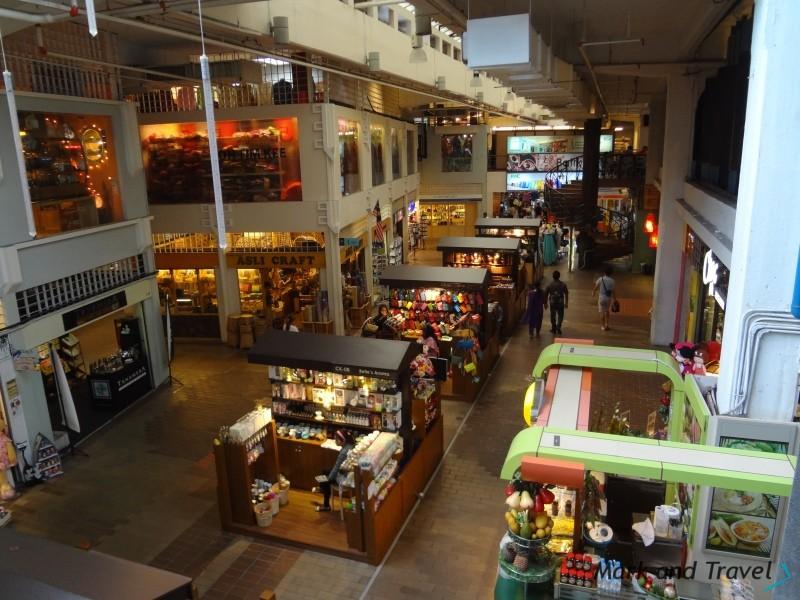 Wewnątrz Central Market