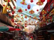 Chinatown KL kolory