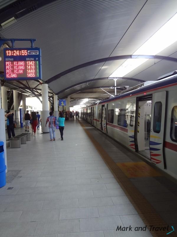 Peron stacja KL