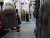 W pociągu KTM KL