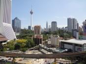 Widok na Kuala Lumpur