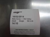 Bilet-Batu Caves KTM Komuter