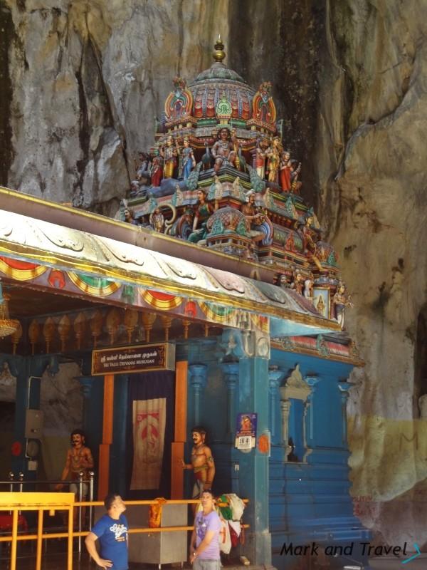 Świątynia hinduska w jaskini Batu