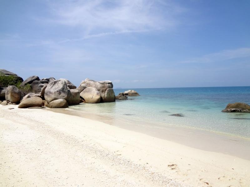 Besar plaża, piasek