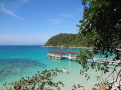 View over Turtle Beach Perhentian Besar