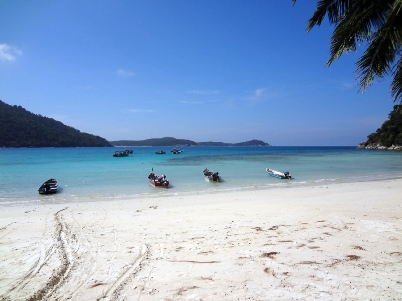 Łodzie - Turtle Beach Perhentian Islands