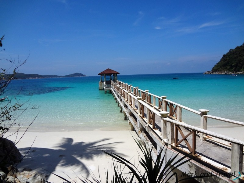 Turtle Beach Perhentian: -Pomost
