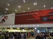 Singapore Changi Airport - Immigration