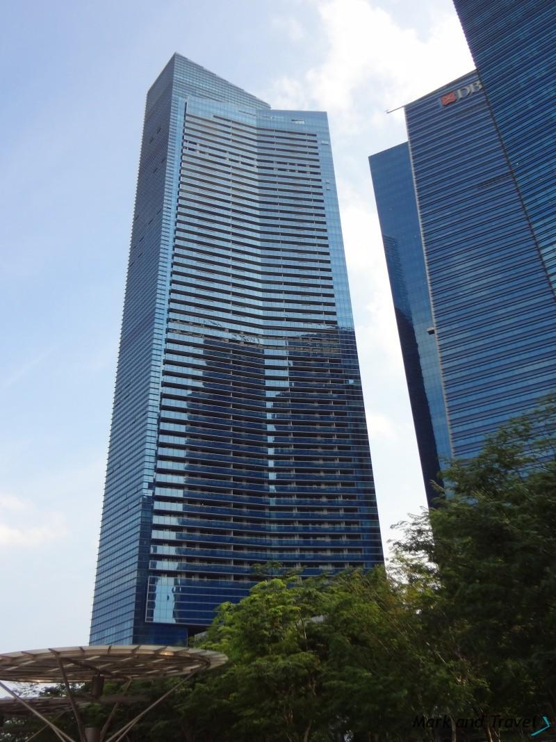 Singapur budynek w CBD