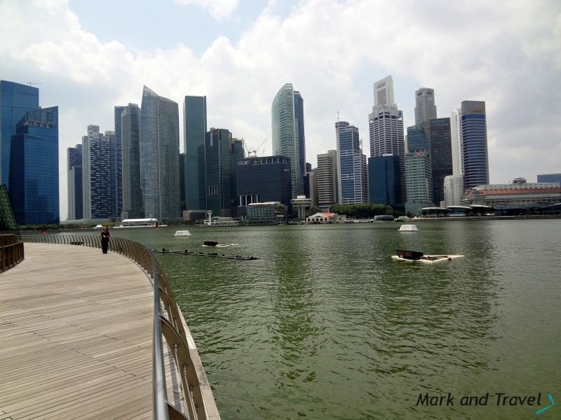 SIN widok na CBD z Marina Bay