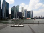 SIN Marina Bay Olympic Walk