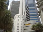 Singapur-CBD budynki banków