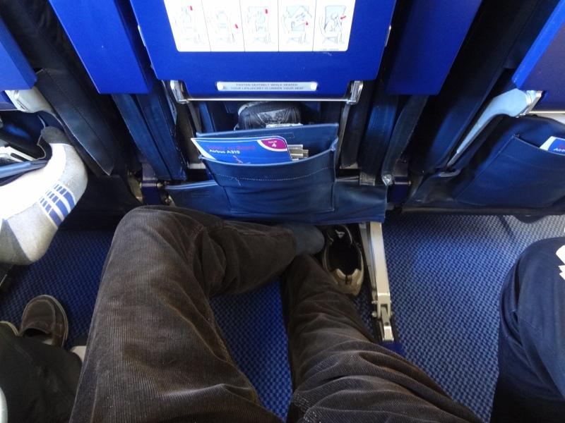 Extra leg room British Airways