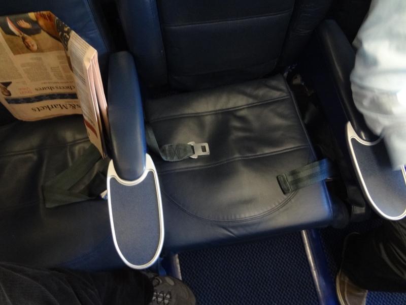 Fotel podłokietnik A319 British Airways