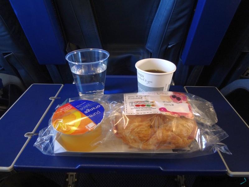 Posiłek British Airways short-haul