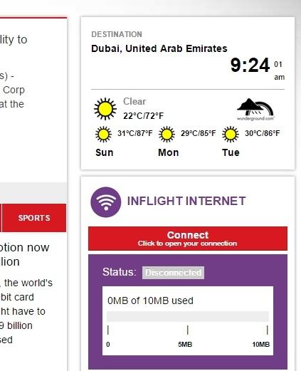 Status Infligt Internet