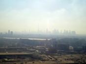 Dubaj panorama, Burj Khalifa