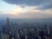 Kuala Lumpur widok na centrum