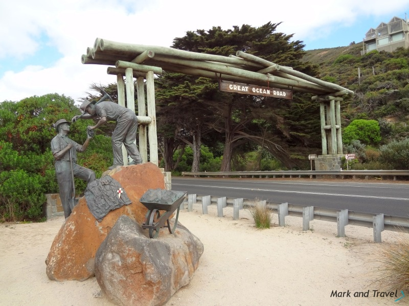Great Ocean Road arch