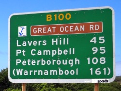 Great Ocean Road info