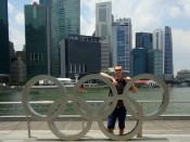Marek Lubas, Singapur
