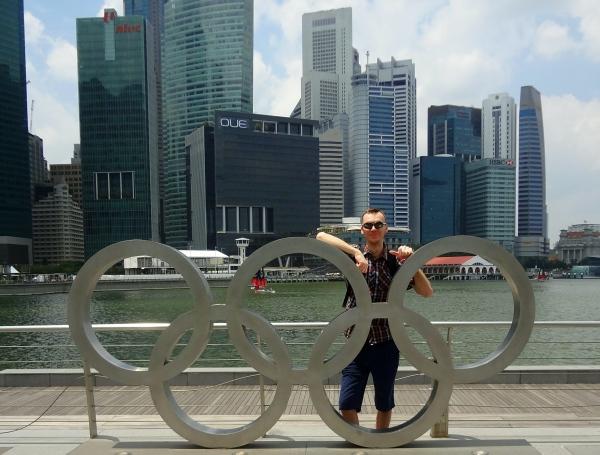 Marek Lubas Singapur