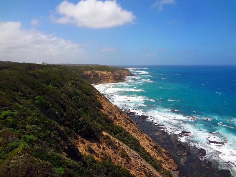 Widok z latarni, Australia