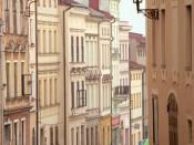 Uliczki miasta Brumov