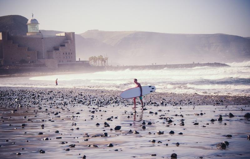 Surfer, Las Palmas de Gran Canaria