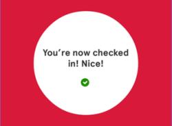 Norwegian Checked in