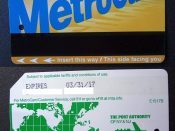 Metro Card, New York