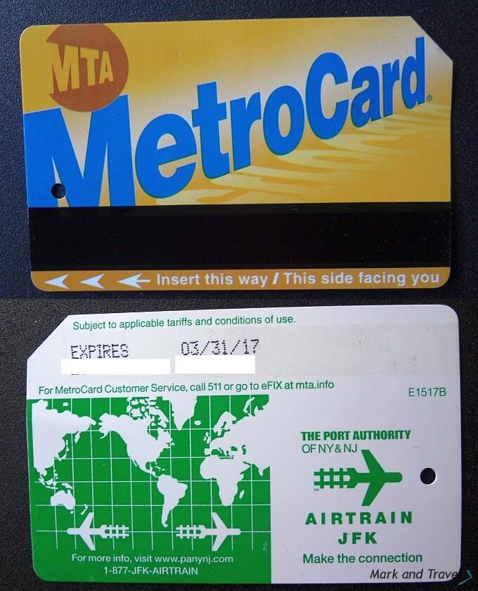 Metro Card, New York
