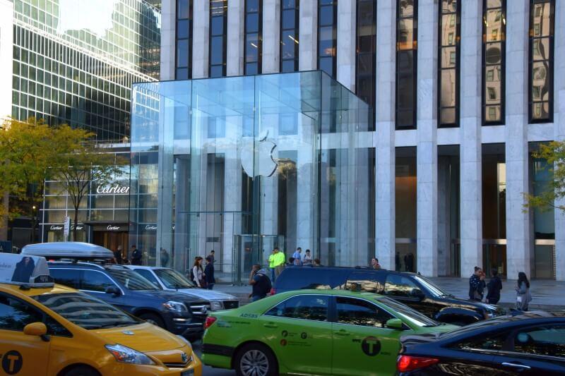 Apple NY jesień
