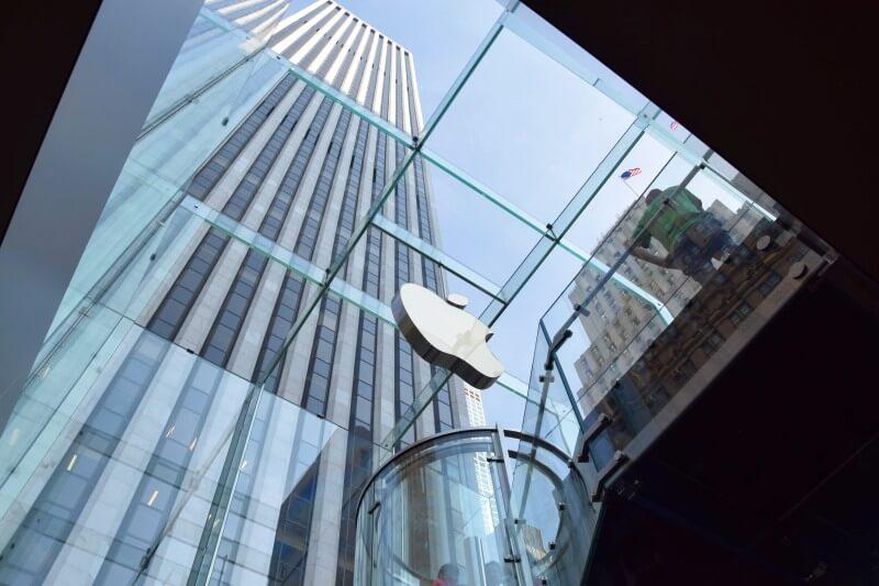 Apple NY Sky