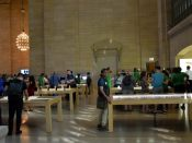Apple Store Grand Central wnętrze