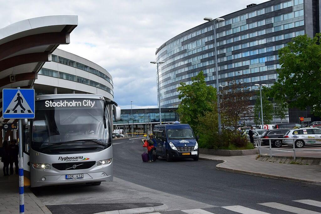 Stockholm city bus