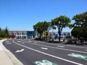Menlo Park facebook road