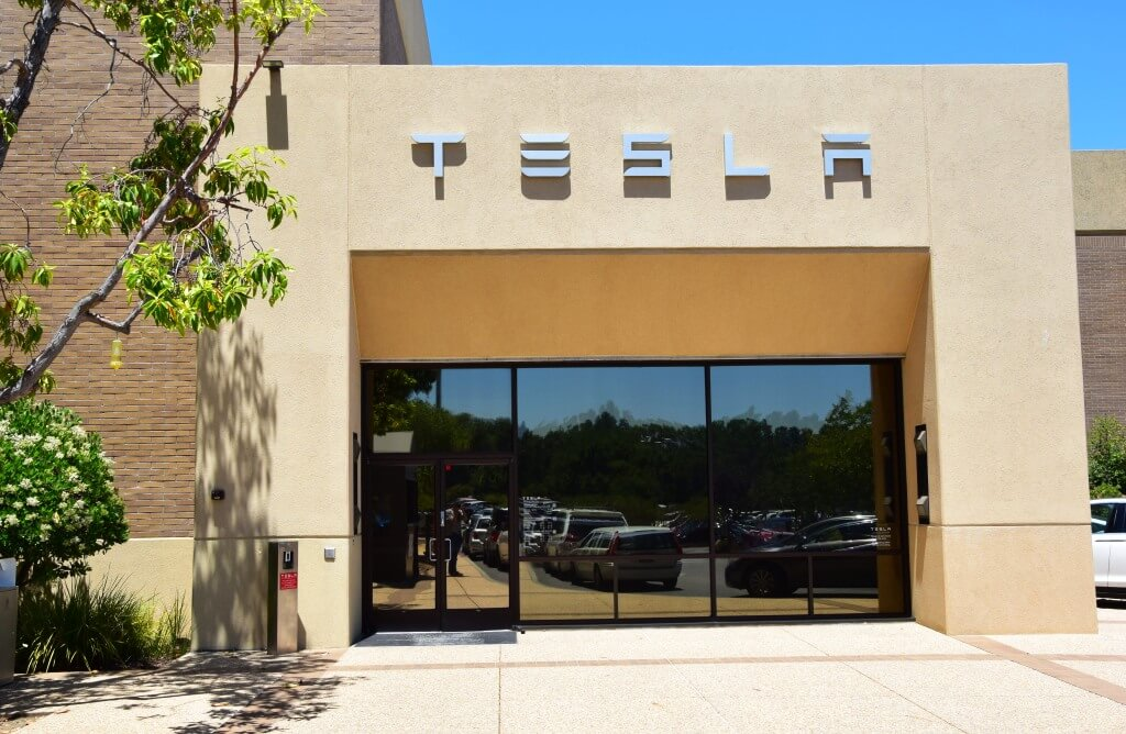 Tesla HQ Entrance