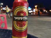 Izraelskie piwo Goldstar