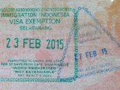 Visa immigration Indnesia