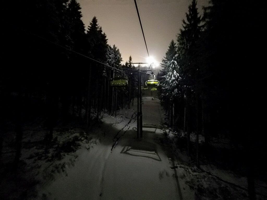 Luxtorpeda w nocy