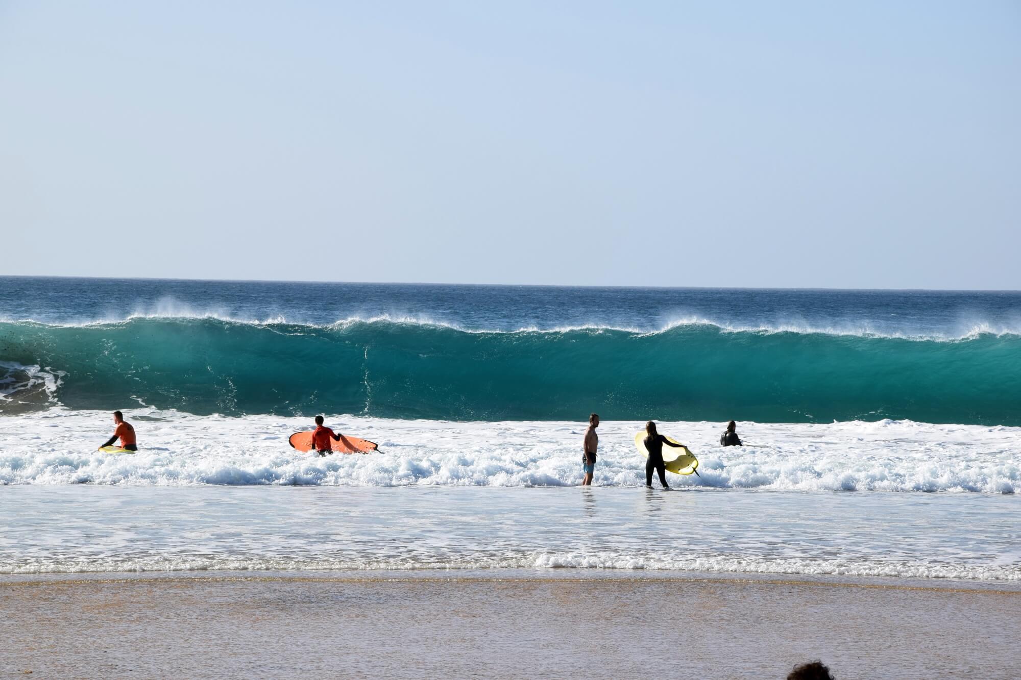 El Cotillo, Fuerteventura, surfing