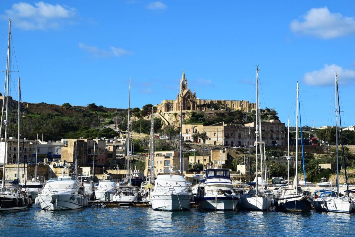 Mġarr, Gozo, Marina