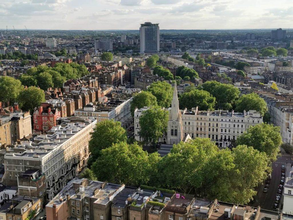 Londyn z okna