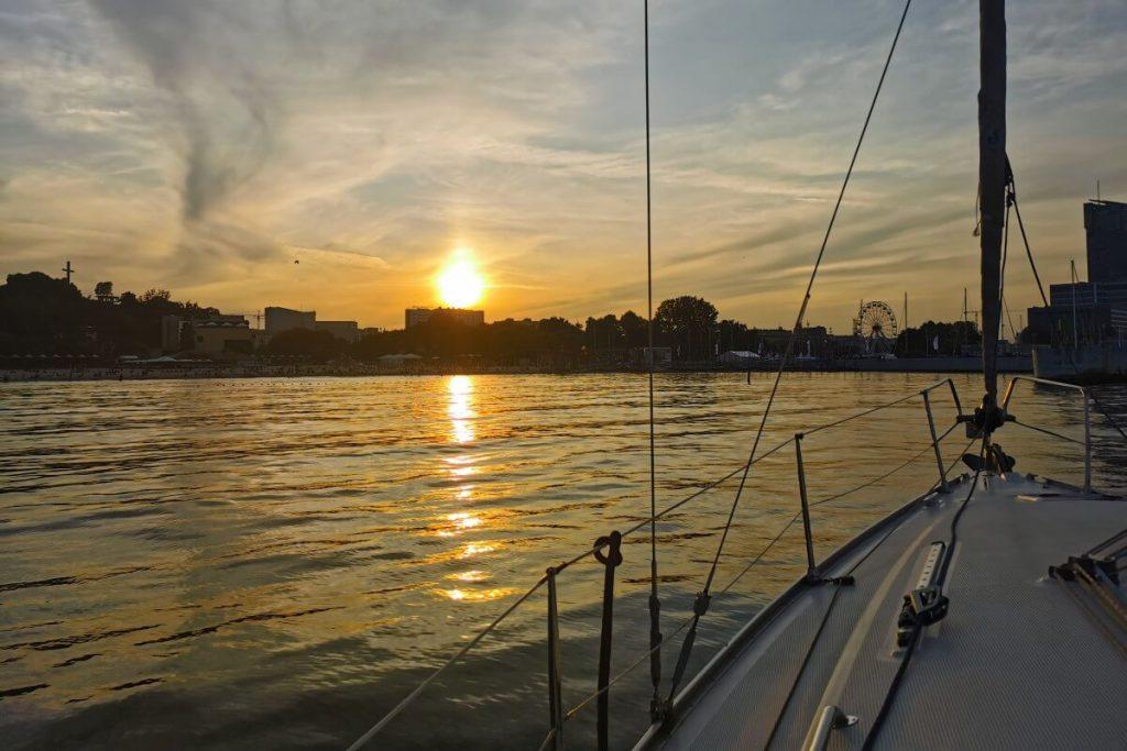 Gdynia, łódka